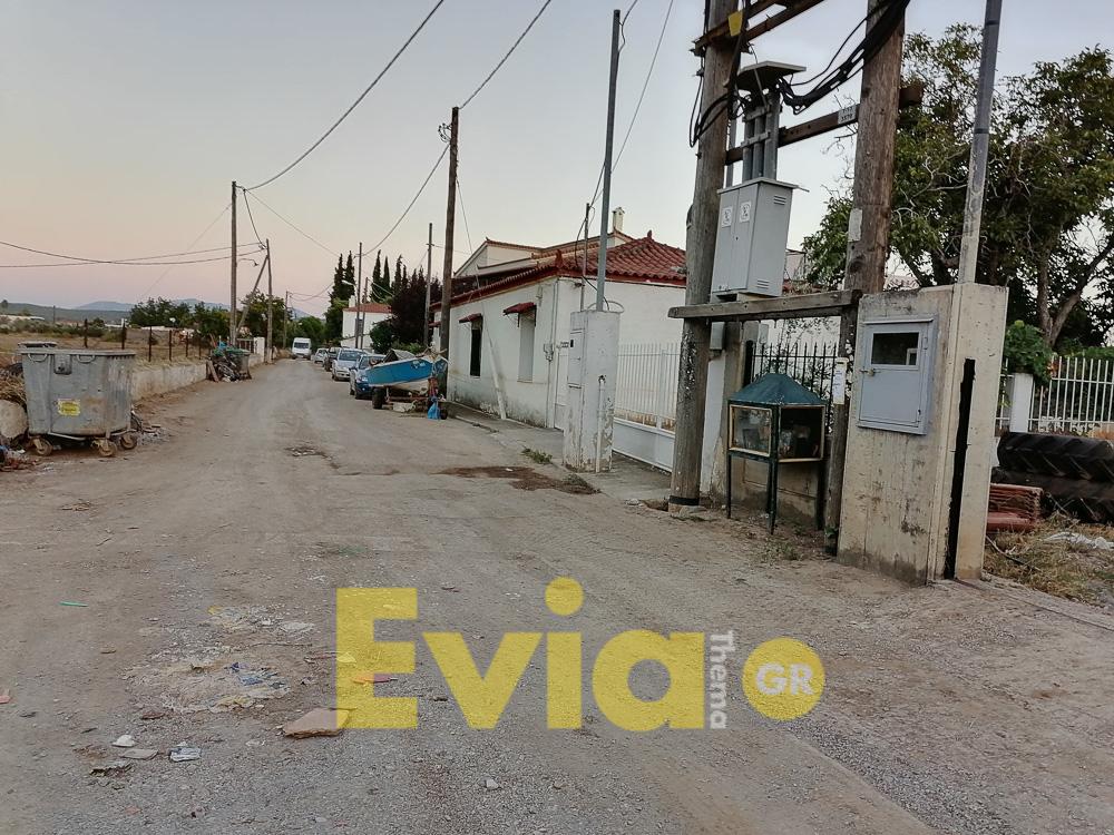 καθαρίστηκε όλη η Κοινότητα της Καστέλλας στην Εύβοια