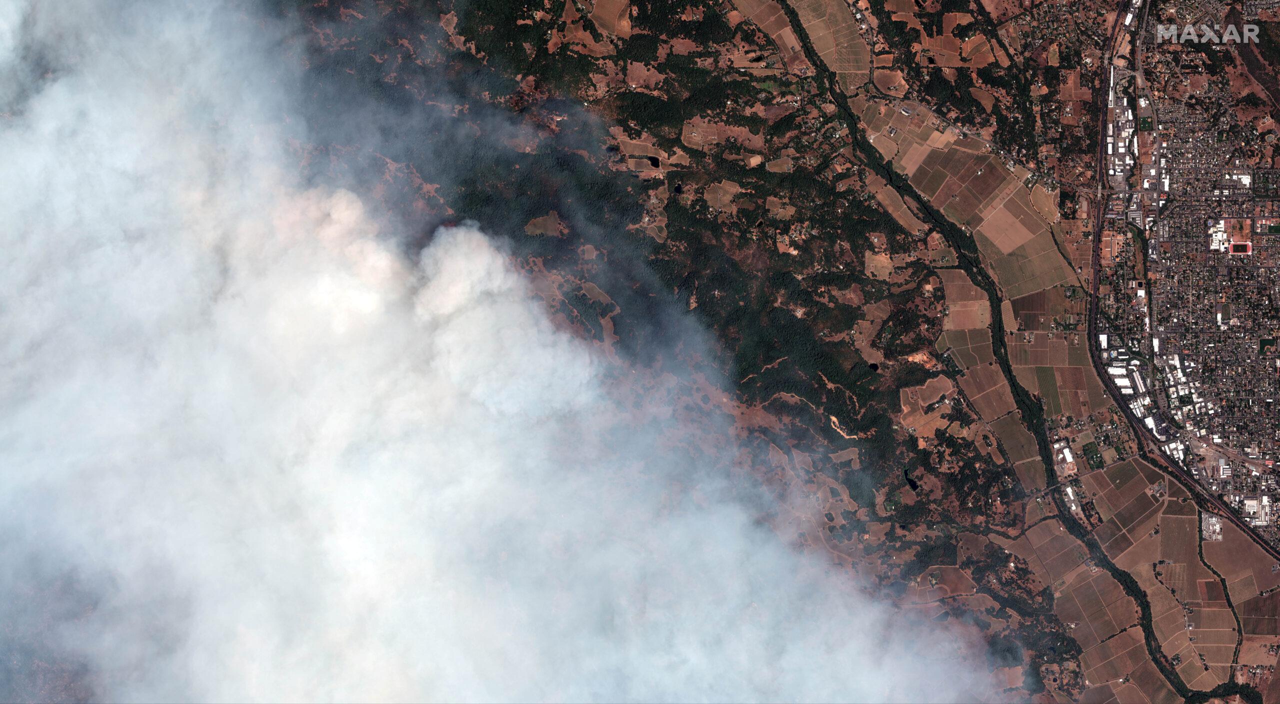 Πυρκαγιά μεγάλης έκτασης στην Καλιφόρνια