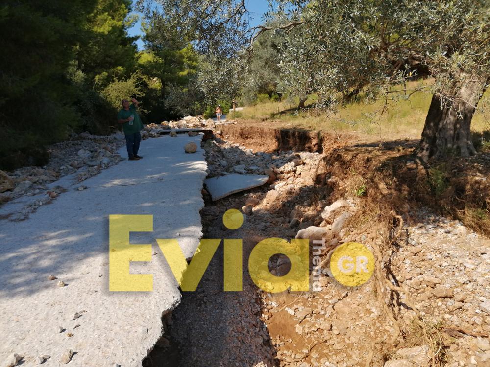 , Φονικές Πλημμύρες Εύβοια: Μεγάλη καταστροφή στο Κοντοδεσπότι και στην Νεροτριβιά [ΦΩΤΟΓΡΑΦΙΕΣ], Eviathema.gr | Εύβοια Τοπ Νέα Ειδήσεις