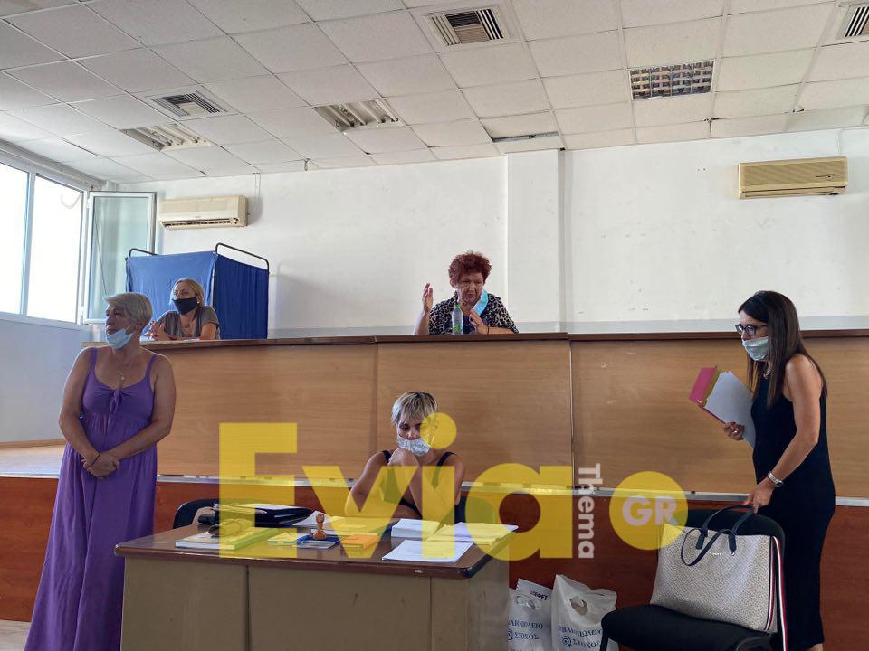 Μεγάλη προσέλευση στην συνέλευση για την σύσταση του Σωματείου κυλικείων Ευβοίας