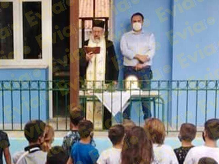 """, Στα Γιάλτρα ο Δήμαρχος Ιστιαίας Αιδηψού Γιάννης Κοντζιάς: """"Καλή δύναμη σε όλους, μαθητές, γονείς και εκπαιδευτικούς."""", Eviathema.gr   ΕΥΒΟΙΑ ΝΕΑ - Νέα και ειδήσεις από όλη την Εύβοια"""