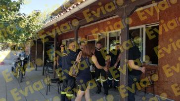 Η Κωνσταντίνα Καραμπατσόλη στο Εθελοντικό Πυροσβεστικό Κλιμάκιο στα Ψαχνά, Η Κωνσταντίνα Καραμπατσόλη στο Σύλλογο Εθελοντών Δασοπροστασία στα Ψαχνά Ευβοίας, Eviathema.gr | ΕΥΒΟΙΑ ΝΕΑ - Νέα και ειδήσεις από όλη την Εύβοια