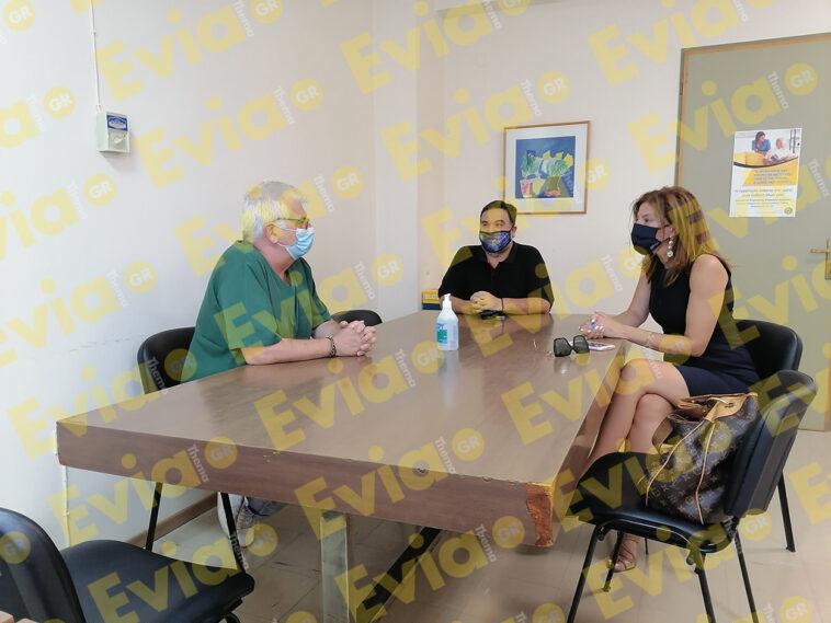 , Η Κωνσταντίνα Καραμπατσόλη στο Κέντρο Υγείας Ψαχνών [ΦΩΤΟΓΡΑΦΙΑ], Eviathema.gr | ΕΥΒΟΙΑ ΝΕΑ - Νέα και ειδήσεις από όλη την Εύβοια