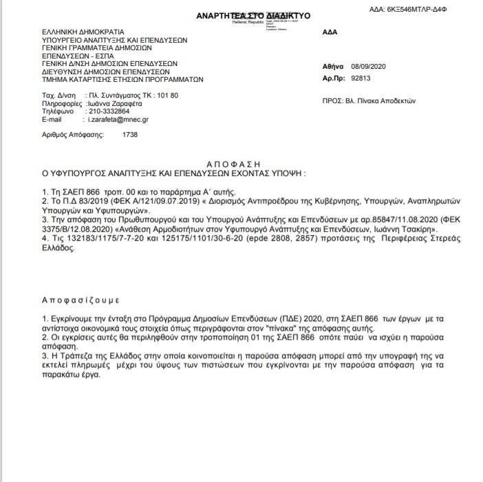 Δήμο Κύμης Αλιβερίου από το Υπουργείο Ανάπτυξης, Πάνω από 3.000.000 ευρώ στον Δήμο Κύμης Αλιβερίου και 1.000.000 στον Δήμο Ερέτριας από το Υπουργείο Ανάπτυξης για καταστροφές, Eviathema.gr | Εύβοια Τοπ Νέα Ειδήσεις