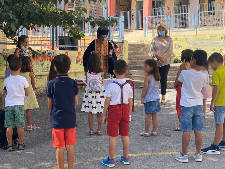 Από τα Δημοτικά σχολεία 18ο & 19ο Χαλκίδας ευχήθηκε η Δήμαρχος Βάκα για όλους τους μαθητές, Από τα Δημοτικά σχολεία 18ο & 19ο Χαλκίδας η Δήμαρχος Έλενα Βάκα  ευχήθηκε για όλους τους μαθητές, Eviathema.gr   Εύβοια Τοπ Νέα Ειδήσεις
