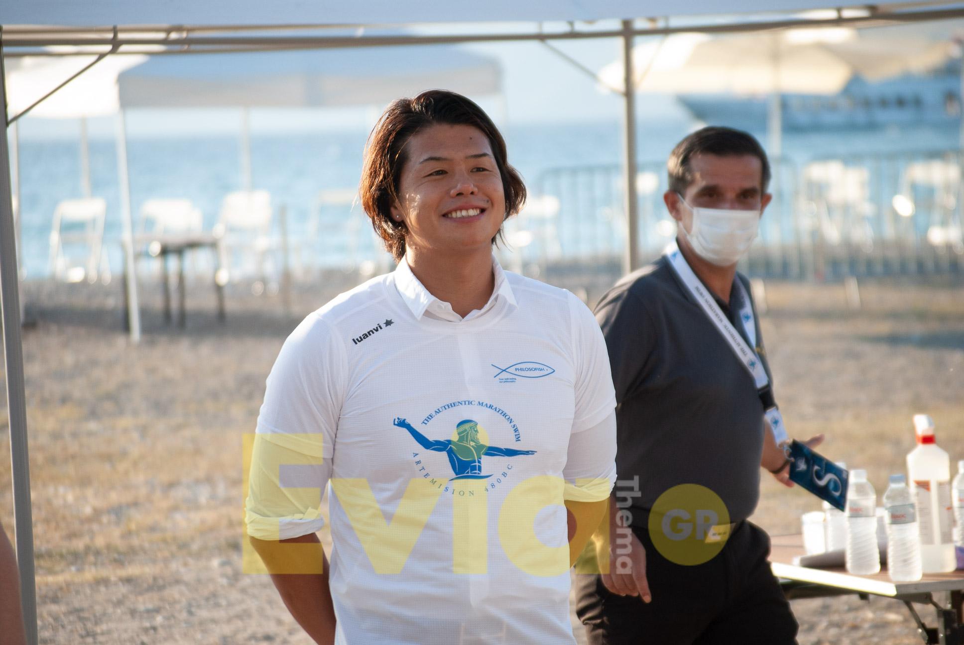 Ιάπωνας Ολυμπιονίκης Yasu Fukuoka - Μαραθώνιο Κολύμβησης Πευκί