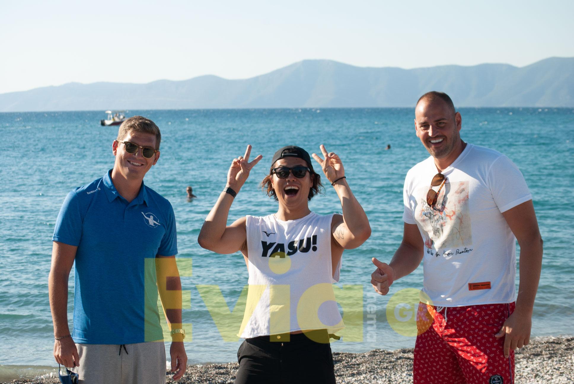 Μαραθώνιος Κολύμβησης Πευκί - Σπύρος Γιαννιώτης, Yasu, Petar