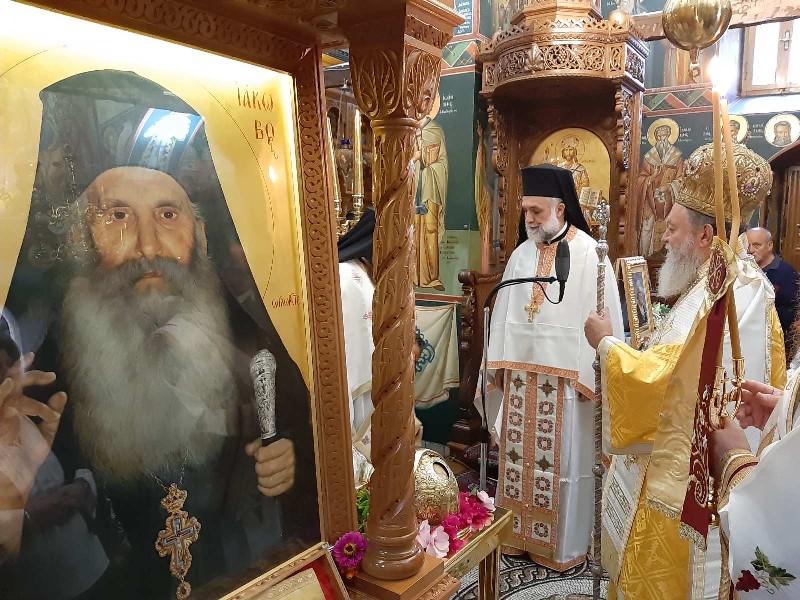 Ιερά μονή Οσίου Δαυίδ, Στην Ιερά μονή Οσίου Δαυίδ ο Μητροπολίτης Χαλκίδος, Eviathema.gr | ΕΥΒΟΙΑ ΝΕΑ - Νέα και ειδήσεις από όλη την Εύβοια