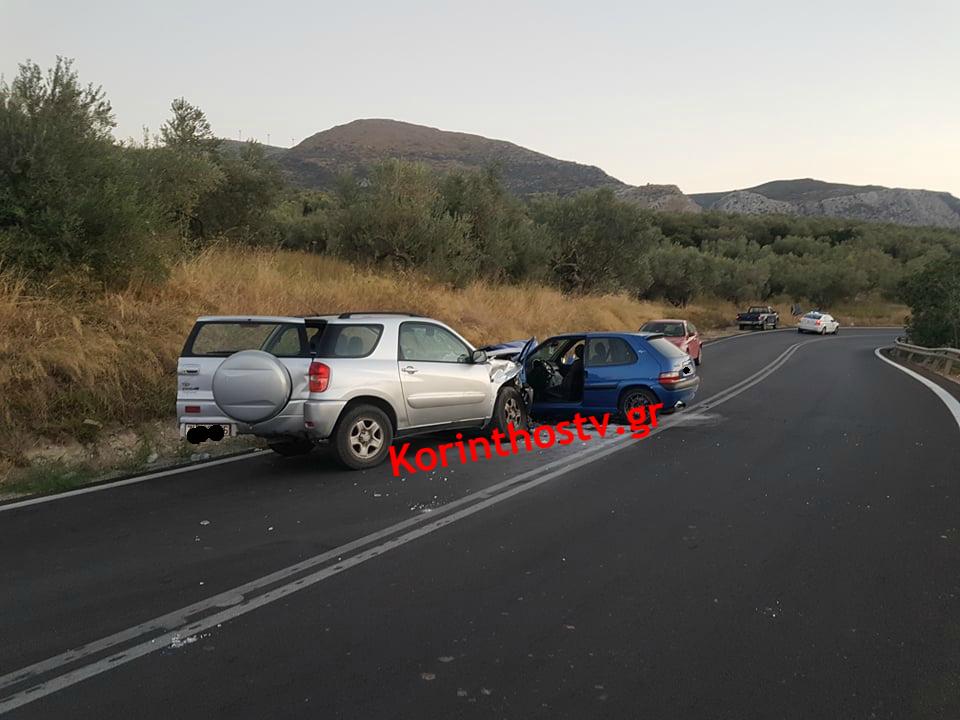 Ένας τραυματίας σε τροχαίο στην Κόρινθο, Ένας τραυματίας σε τροχαίο στην Κόρινθο (pics), Eviathema.gr   Εύβοια Τοπ Νέα Ειδήσεις