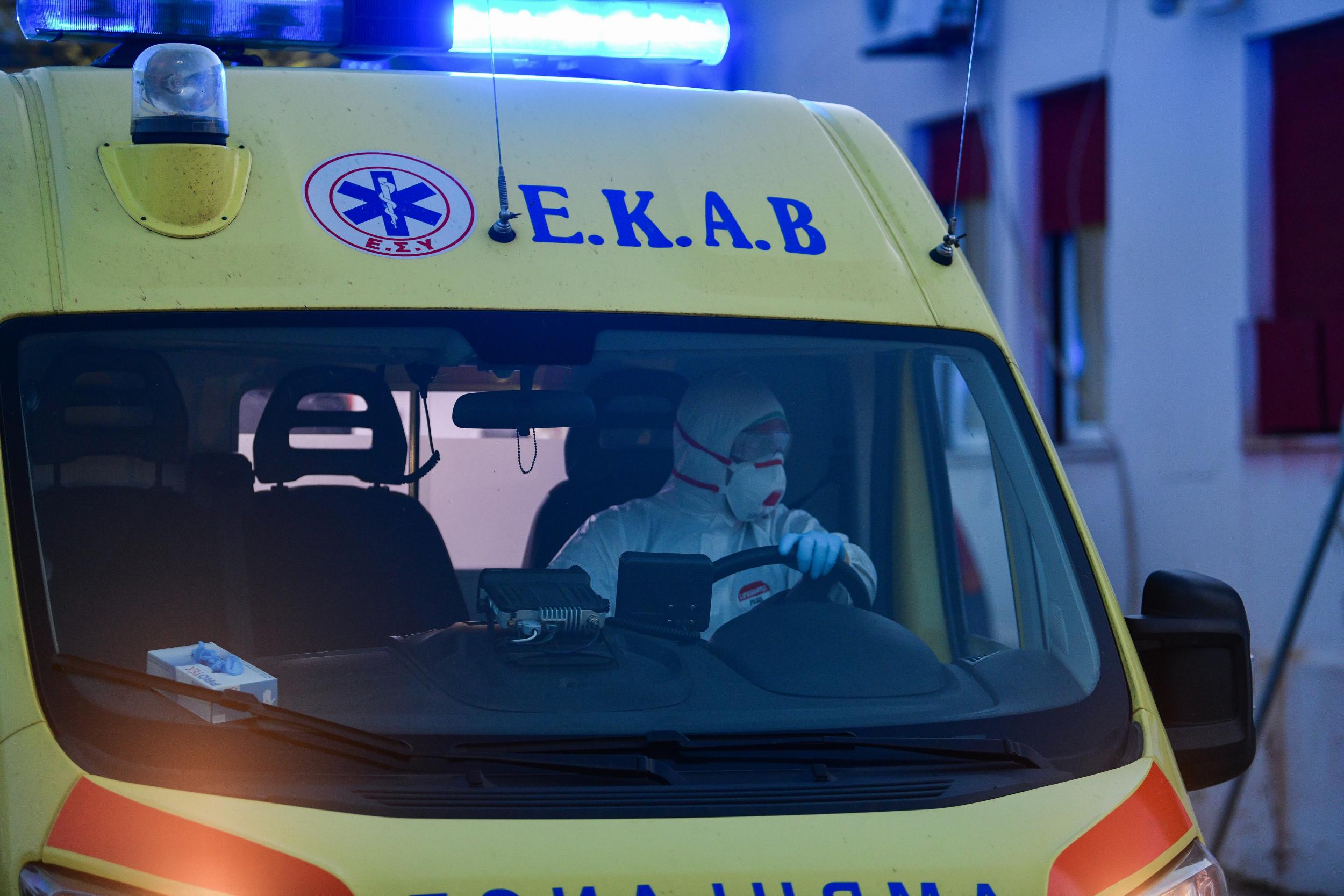 Κύμη Ευβοίας: Τροχαίο ατύχημα στο λιμάνι