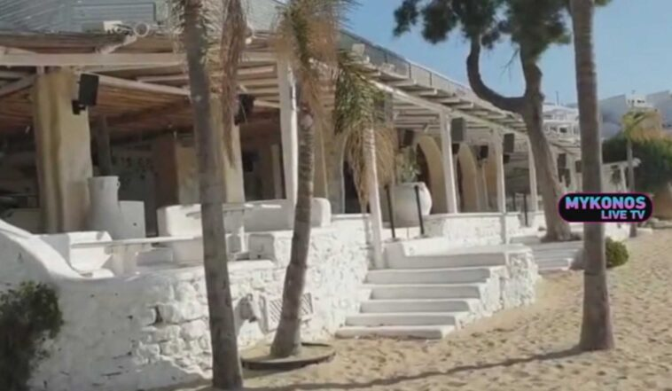 , Μύκονος: Οριστικό λουκέτο στο Nammos! Αγνώριστη η Ψαρρού για τα δεδομένα της εποχής (Βίντεο), Eviathema.gr   ΕΥΒΟΙΑ ΝΕΑ - Νέα και ειδήσεις από όλη την Εύβοια