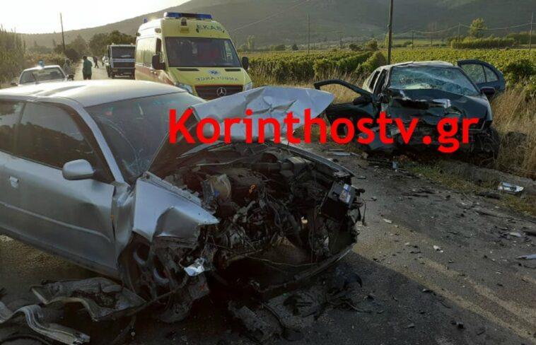 Θανατηφόρο τροχαίο Νεμέα αυτοκίνητα, Θανατηφόρο τροχαίο στη Νεμέα – Ένας νεκρός και οκτώ τραυματίες σε τροχαίο, Eviathema.gr   Εύβοια Τοπ Νέα Ειδήσεις