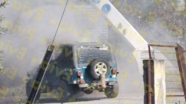 Φωτιά όχημα νέα αρτάκη