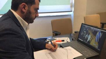 Φάνης Σπανός τηλεδιάσκεψη Μητσοτάκης, Ο Φάνης Σπανός σε τηλεδιάσκεψη με τον Πρωθυπουργό Κυριάκο Μητσοτάκη, Eviathema.gr | Εύβοια Τοπ Νέα Ειδήσεις