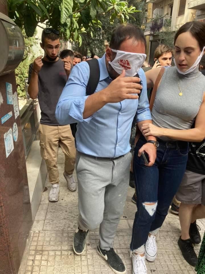 Μίλτος Χατζηγιαννάκης εφετείο δακρυγόνα, Στο Νοσοκομείο ο Μίλτος Χατζηγιαννάκης μετά τα επεισόδια έξω από το εφετείο, Eviathema.gr   Εύβοια Τοπ Νέα Ειδήσεις
