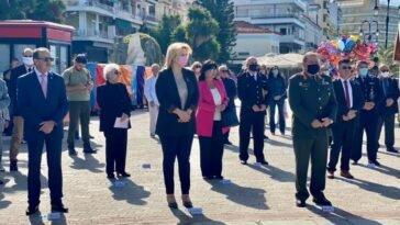 Ηρωΐδας της Εθνικής Αντίστασης Λέλας Καραγιάννη, Η Έλενα Βάκα στην εκδήλωση μνήμης για τα 76 χρόνια από την εκτέλεση της Λέλας Καραγιάννη, Eviathema.gr | Εύβοια Τοπ Νέα Ειδήσεις