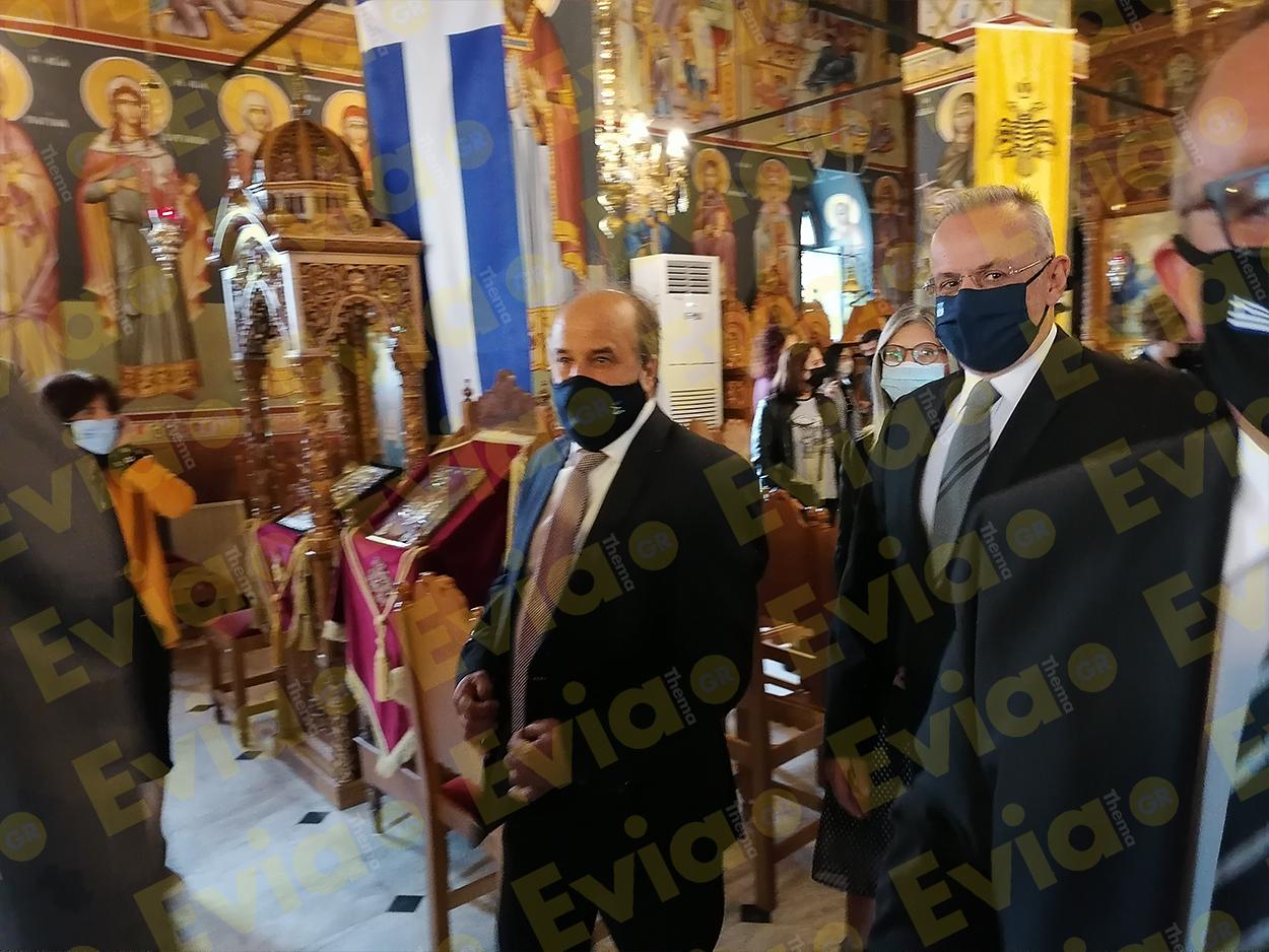 Ψαχνά Νέα Δοξολογία 28η Οκτωβρίου Άγιος Νικόλαος Ψαχνών
