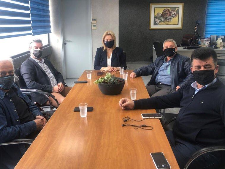 """Την απόλυτα σύμφωνη γνώμη της για την υλοποίηση πρωτοβουλίας του Επιμελητηρίου Ευβοίας, Η Δήμαρχος Χαλκιδέων έθεσε το Δήμο συμπαραστάτη στην πρωτοβουλία του Επιμελητηρίου για την αναβίωση της Τεχνικής Σχολής """"Δημόκριτος"""" σε εκπαιδευτικό κέντρο, Eviathema.gr   Εύβοια Τοπ Νέα Ειδήσεις"""