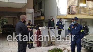 Καλαμαριά Θεσσαλονίκη Εργατικό Ατύχημα