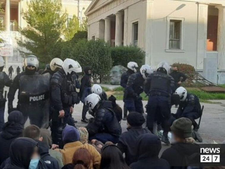 Συλλήψεις Πολυτεχνείο