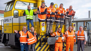 σιδηρόδρομος του εργοστασίου της Opel, Ο σιδηρόδρομος του εργοστασίου της Opel γιορτάζει τα 100ά του γενέθλια., Eviathema.gr | Εύβοια Τοπ Νέα Ειδήσεις