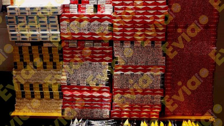 Τους πιάσανε στα πράσα με πάνω από 3.500 αφορολόγητα πακέτα τσιγάρα