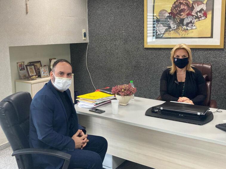 βουλευτής Ευβοίας του ΣΥΡΙΖΑ Μίλτος Χατζηγιαννάκης, Συνάντηση Μίλτου Χατζηγιαννάκη με την Έλενα Βάκα – Τι συζήτησαν, Eviathema.gr   Εύβοια Τοπ Νέα Ειδήσεις