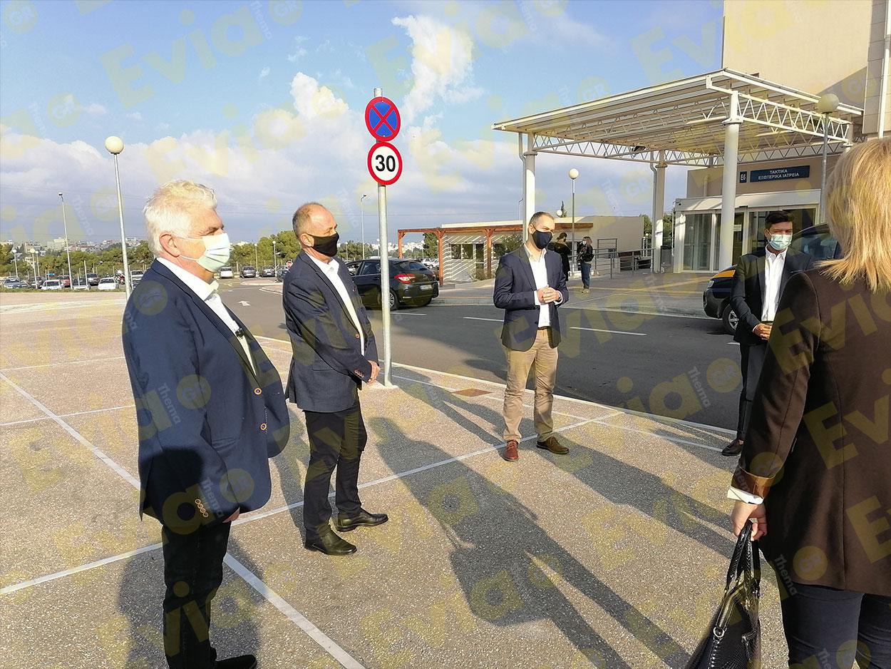 Επισκέφθηκε σήμερα Σάββατο τις πρωινές ώρες ο Υπουργός Υγείας Βασίλης Κικίλιας