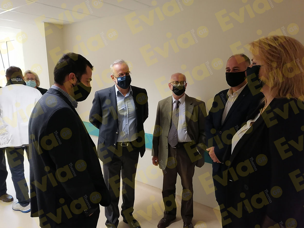 Χαλκίδα Νέα Βασίλης Κικίλιας Νέο Νοσοκομείο Χαλκίδας