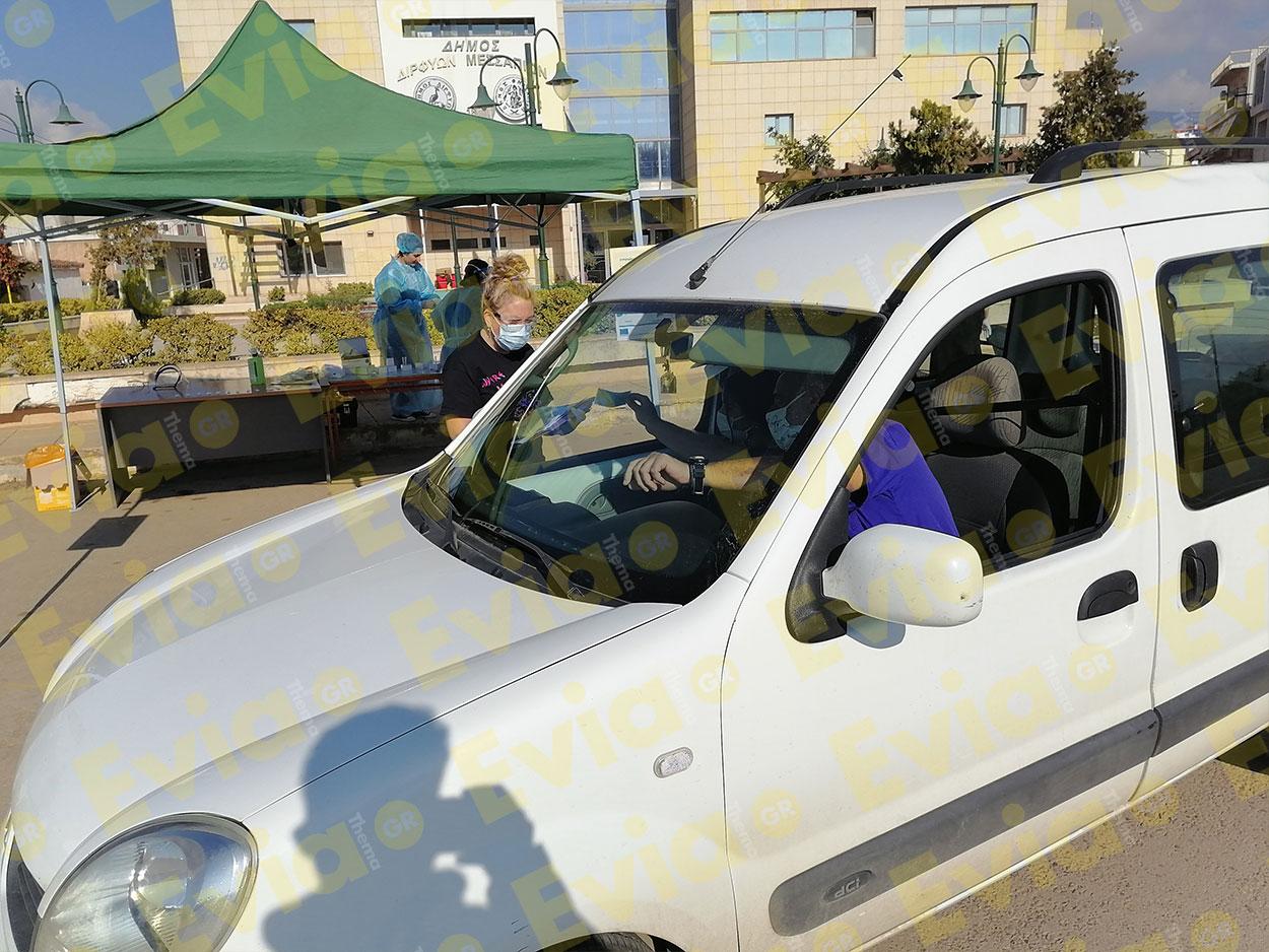 Ψαχνά Νέα Rapid Test σε οδηγούς Covid 19