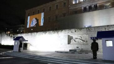 , Έτσι φωταγωγήθηκε η Βουλή για την Παγκόσμια Ημέρα για την Εξάλειψη της Βίας κατά των Γυναικών (pics), Eviathema.gr   Εύβοια Τοπ Νέα Ειδήσεις
