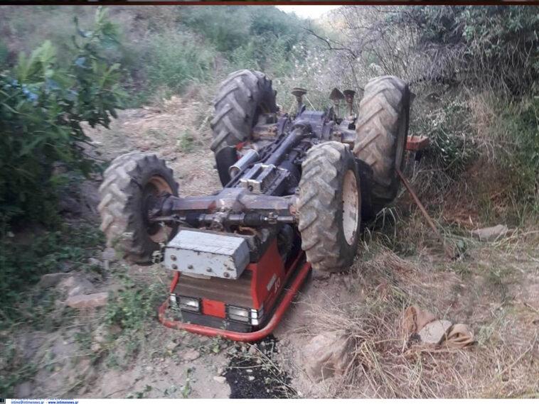 Νεκρός ανασύρθηκε κάτω από το τρακτέρ του 53χρονος, Αχαϊα: Σκοτώθηκε πατέρας τριών παιδιών με το τρακτέρ που οδηγούσε! Η μοιραία προσπάθεια να ανέβει ύψωμα, Eviathema.gr | Εύβοια Τοπ Νέα Ειδήσεις
