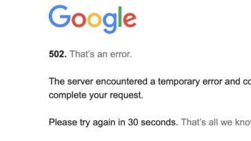 Προβλήματα στην Google