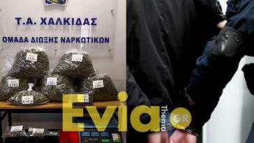 """σύλληψη ναρκωτικά αμάρυνθος, Επιτυχία του Τμήματος Ασφάλειας Χαλκίδος στην Αμάρυνθος. Τους έπιασαν με 8 κιλά κάνναβη – Γιώργος Κουλιάκης:""""Θερμά συγχαρητήρια σε όλους τους συναδέλφους!"""", Eviathema.gr   Εύβοια Τοπ Νέα Ειδήσεις"""