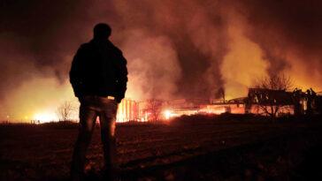 H φωτιά τύλιξε το σπίτι στην Αργολίδα