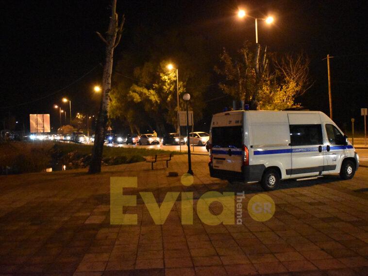 """Χαλκίδα Ευβοίας: Άγρια καταδίωξη της αστυνομίας ύποπτου οχήματος, ΠΑΝΙΚΟΣ – Χαλκίδα Ευβοίας: Άγρια καταδίωξη της αστυνομίας ύποπτου οχήματος – Ο έλεγχος ρουτίνας """"που ξεσήκωσε"""" τις δυνάμεις της αστυνομίας, Eviathema.gr   Εύβοια Τοπ Νέα Ειδήσεις"""
