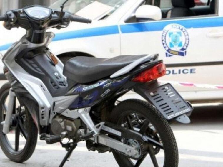 Αμάρυνθος: Έκλεψε την μηχανή και την παράτησε στην Χαλκίδα, Αμάρυνθος: Έκλεψε την μηχανή και την παράτησε στην Χαλκίδα, Eviathema.gr | Εύβοια Τοπ Νέα Ειδήσεις