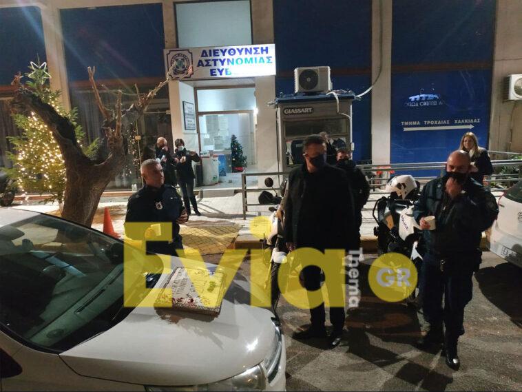 Αστυνομικοί Χαλκίδα Πρωτοχρονιά