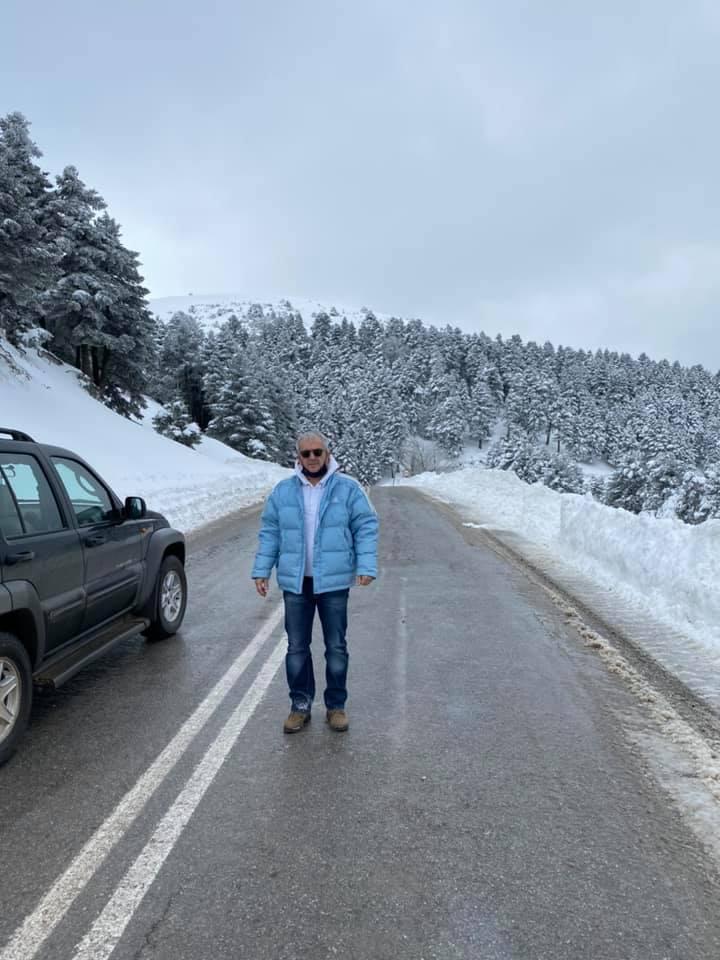 Κωνσταντίνος Γαλάνης Περιφέρεια Χιόνια