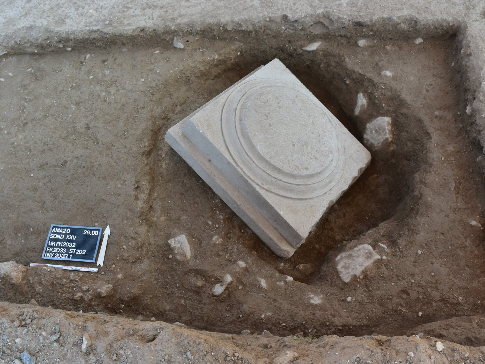 Υστεροαρχαϊκός ναός εντοπίστηκε σε κεντρικό σημείο του ιερού της Αμαρυσίας Αρτέμιδος, Ελληνο-Ελβετικές ανασκαφές στο ιερό της Αμαρυσίας Αρτέμιδος στην Αμάρυνθο, Eviathema.gr | ΕΥΒΟΙΑ ΝΕΑ - Νέα και ειδήσεις από όλη την Εύβοια