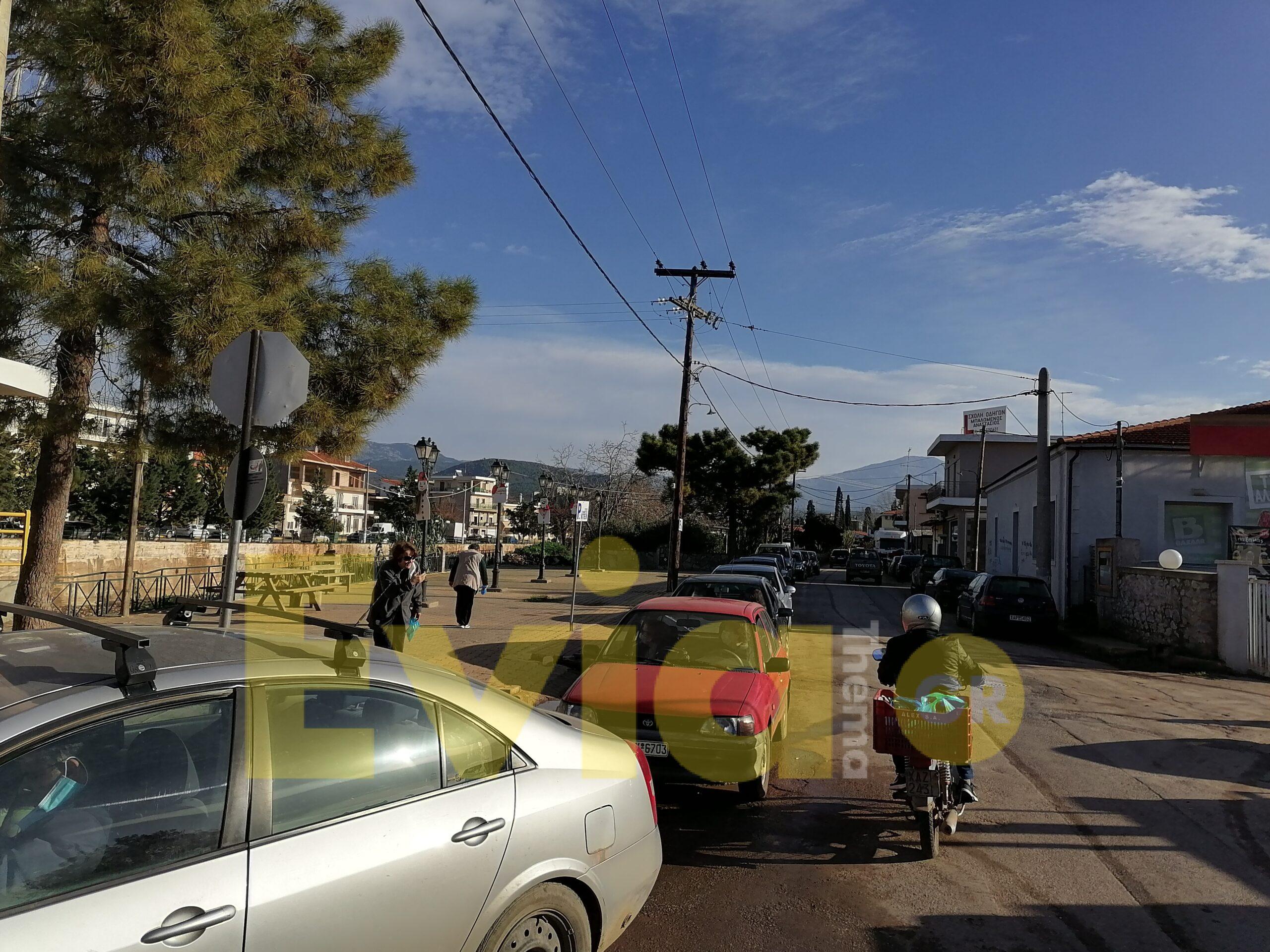 Ψαχνά Ευβοίας: Ουρά τα αυτοκίνητα για το Drive Through Testing, Ψαχνά Ευβοίας: Ουρά τα αυτοκίνητα για το Drive Through Testing μπροστά στο Δημαρχείο[ΦΩΤΟΓΡΑΦΙΕΣ – ΒΙΝΤΕΟ], Eviathema.gr | ΕΥΒΟΙΑ ΝΕΑ - Νέα και ειδήσεις από όλη την Εύβοια