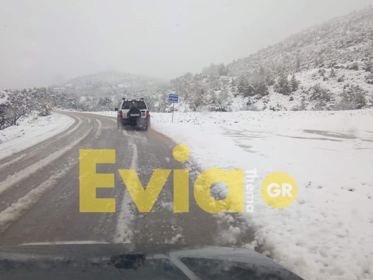 Εύβοια: Σφοδρή χιονόπτωση, Εύβοια: Σφοδρή χιονόπτωση σε πολλά σημεία της Εύβοιας [ΦΩΤΟΓΡΑΦΙΕΣ – ΒΙΝΤΕΟ], Eviathema.gr | ΕΥΒΟΙΑ ΝΕΑ - Νέα και ειδήσεις από όλη την Εύβοια
