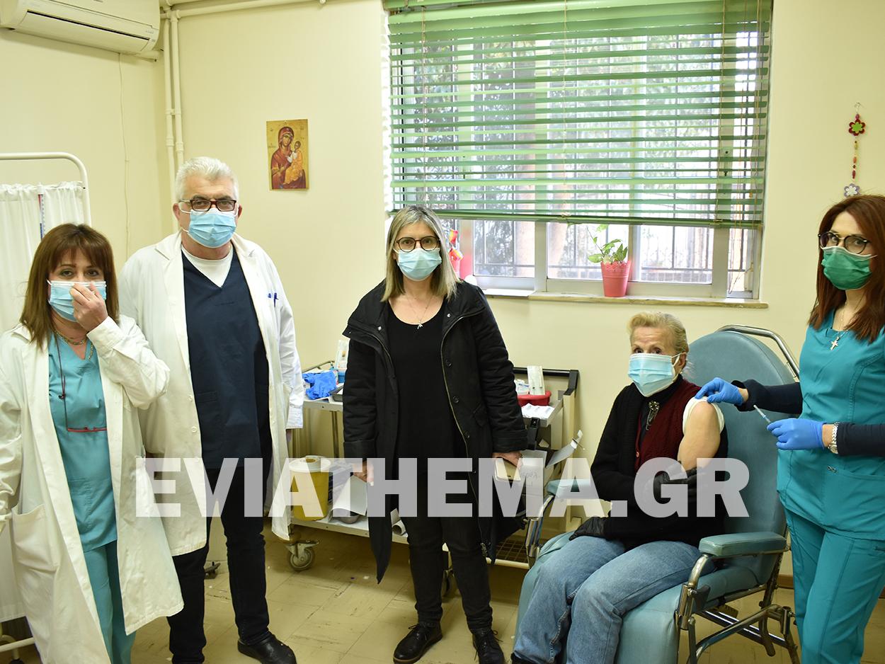 Οι εμβολιασμοί για τον Covid 19 ξεκίνησαν σήμερα Τρίτη 20/01 στο Κέντρο Υγείας Ψαχνώ