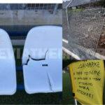 """, Βανδαλισμοί στο Ποδοσφαιρικό γήπεδο Ζαγαρά – Δήμαρχος Λεβαδέων: """"Οι βανδαλισμοί δεν αποτελούν δημοκρατικό τρόπο αντίδρασης, υπάρχουν πολλοί άλλοι τρόποι."""", Eviathema.gr   Εύβοια Τοπ Νέα Ειδήσεις"""