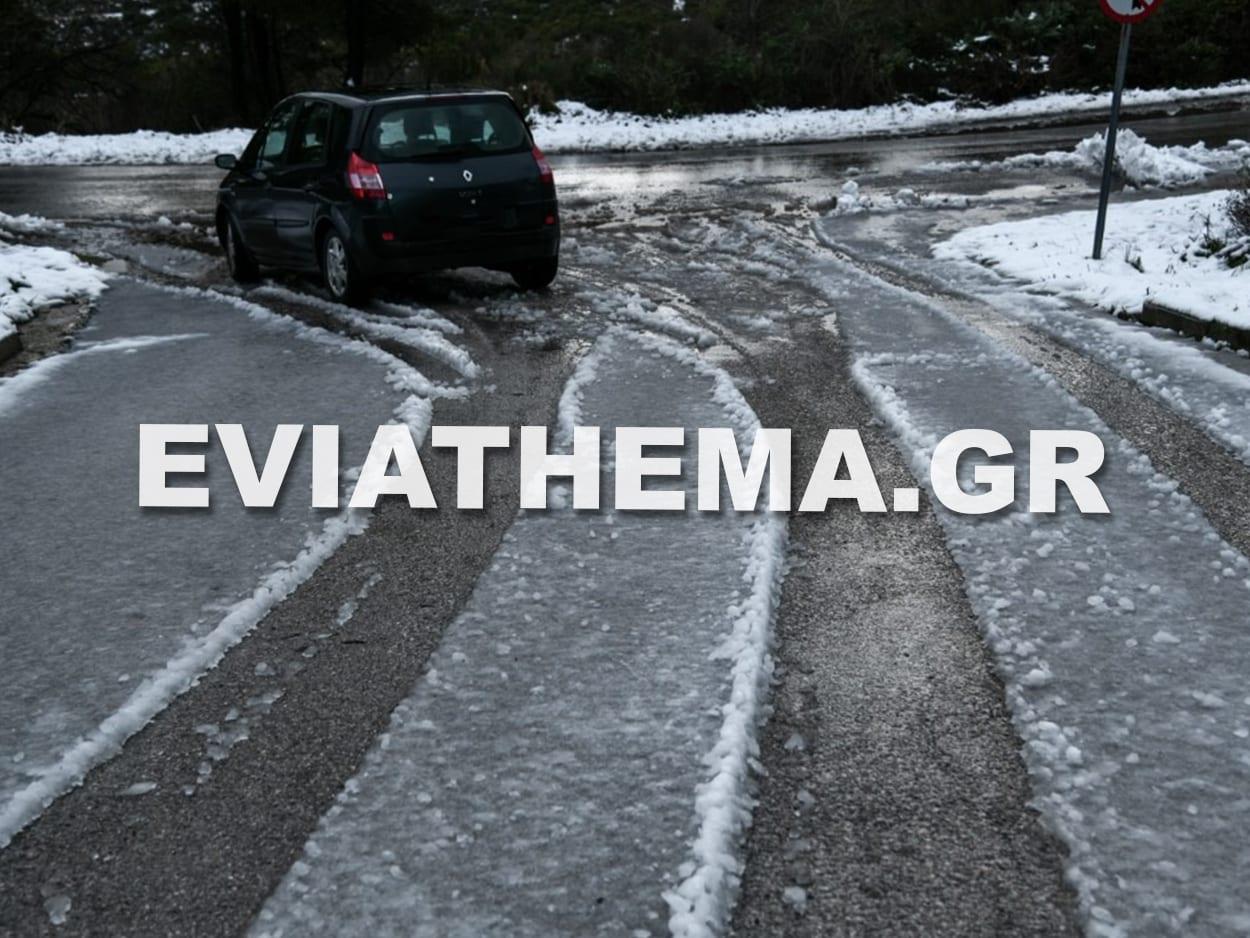, Εύβοια – Κακοκαιρία Μήδεια: Πήγαν βόλτα στα χιόνια τα ξημερώματα και εγκλωβίστηκαν – Κατέληξαν με πρόστιμο γιατί δεν είχαν χαρτί μετακίνησης, Eviathema.gr | Εύβοια Τοπ Νέα Ειδήσεις