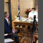 , Συνάντηση Θανάση Ζεμπίλη με τον  Άδωνι Γεωργιάδη – Συζητήθηκαν μέτρα στήριξης του λιανεμπορίου και της εστίασης., Eviathema.gr   Εύβοια Τοπ Νέα Ειδήσεις