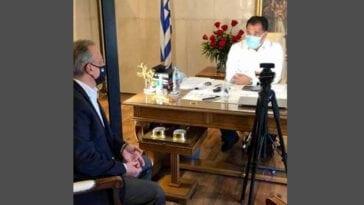 Θανάσης Ζεμπίλης συνάντηση Άδωνι Γεωργιάδη