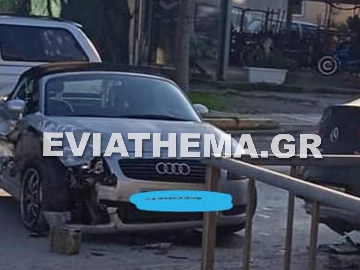 Τροχαίο ατύχημα Βασιλικό Ευβοίας, Βασιλικό Ευβοίας: Σφοδρή σύγκρουση δύο αυτοκινήτων το απόγευμα της Κυριακής – Ελαφρά τραυματισμένος ο οδηγός [ΦΩΤΟΓΡΑΦΙΕΣ], Eviathema.gr   Εύβοια Τοπ Νέα Ειδήσεις