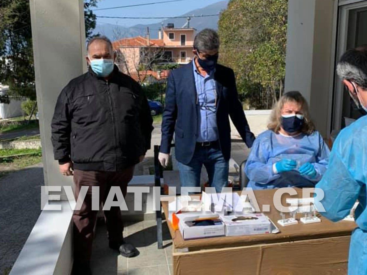 κλιμάκιο του ΕΟΔΥ η δειγματοληψία Rapid Test στις Ροβιές της Βόρειας Εύβοιας, Ροβιές – Βόρεια Εύβοια: Συνολικά 3 θετικά τεστ από τα 171 εχθές Σάββατο 27/02, Eviathema.gr | Εύβοια Τοπ Νέα Ειδήσεις
