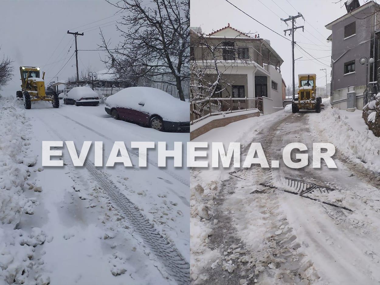 Για τα καλά έχει σκεπάσει το χιόνι περιοχές της Βόρειας Εύβοιας, Κακοκαιρία Μήδεια – Χιόνι και στην Βόρεια Εύβοια. Σε ποιες περιοχές το έχει στρώσει [ΦΩΤΟΓΡΑΦΙΕΣ – ΒΙΝΤΕΟ], Eviathema.gr | Εύβοια Τοπ Νέα Ειδήσεις
